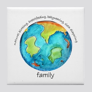 Earth Mama Tile Coaster