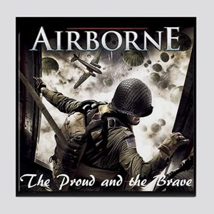 Airborne:The Proud and the Br Tile Coaster