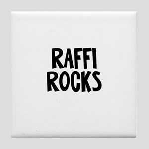 Raffi Rocks Tile Coaster
