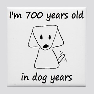 100 dog years 6 - 2 Tile Coaster