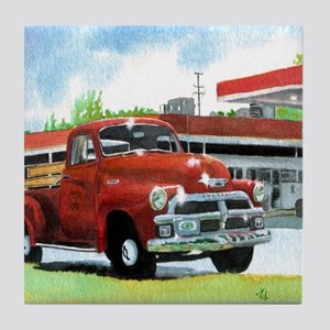 1954 Chevrolet Truck Tile Coaster