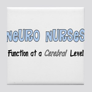 Neuro Nurse Tile Coaster