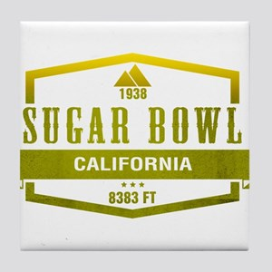 Sugar Bowl Ski Resort California Tile Coaster