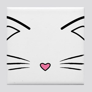 Cat Whiskers Tile Coaster