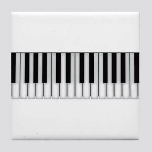 piano keys Tile Coaster