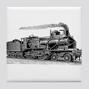 VINTAGE TRAINS Tile Coaster