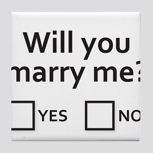 Well will you? Tile Coaster