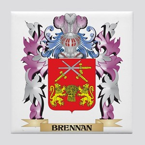 Brennan Coat of Arms (Family Crest) Tile Coaster