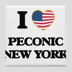 I love Peconic New York Tile Coaster
