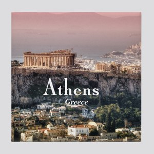 Athens Tile Coaster