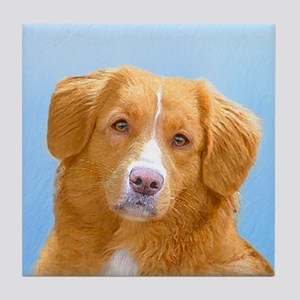 Nova Scotia Duck Tolling Retriever Tile Coaster