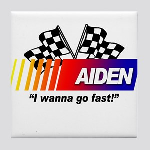 Racing - Aiden Tile Coaster