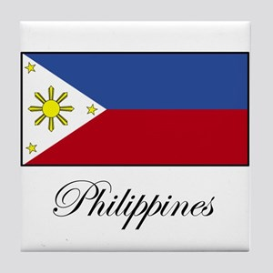 Philippines - Flag Tile Coaster