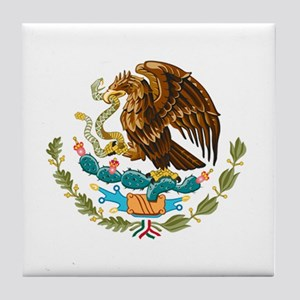 Mexico - Mexican Eagle Tile Coaster
