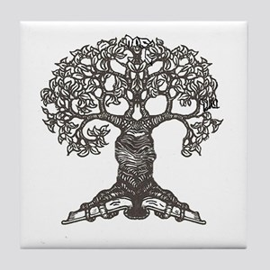 The Reading Tree Tile Coaster