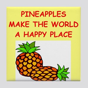 pineapples Tile Coaster