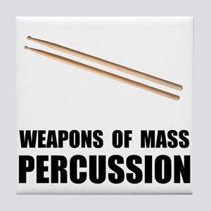 Drum Mass Percussion Tile Coaster