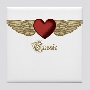 Cassie the Angel Tile Coaster