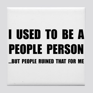 People Person Tile Coaster