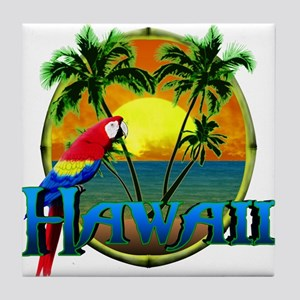 Hawaiian Sunset Tile Coaster