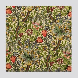 William Morris Golden Lily Tile Coaster