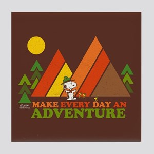 Snoopy-Make Every Day An Adventure Tile Coaster
