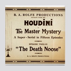 Houdini in The master mystery - Anonymous - c1900