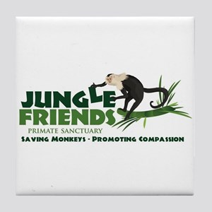 jungle_friends_2.jpg Tile Coaster