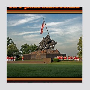 Iwo Jima Memorial Tile Coaster