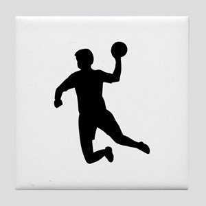 Handball player Tile Coaster