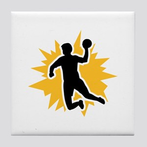 Dodgeball player Tile Coaster