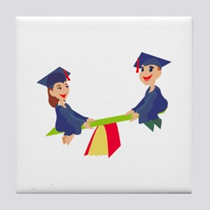Graduation Tile Coaster