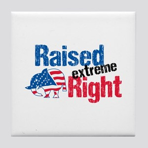 Raised Ext Right Tile Coaster