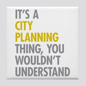 City Planning Thing Tile Coaster