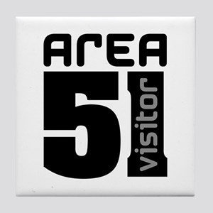 Area 51 Alien Visitor Tile Coaster
