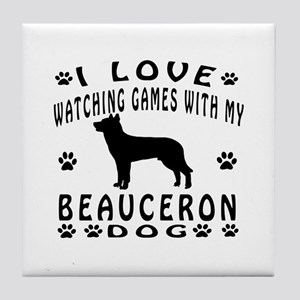 Beauceron Tile Coaster