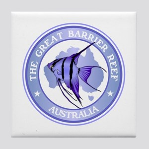 Australia -The Great Barrier Reef Tile Coaster