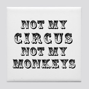 Not Circus Tile Coaster