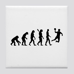 Evolution Handball Tile Coaster