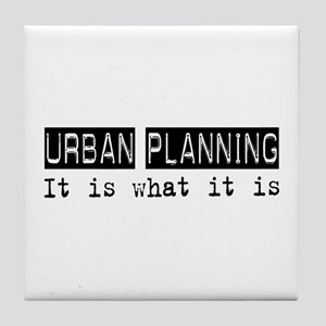 Urban Planning Is Tile Coaster