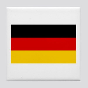 German Flag Tile Coaster