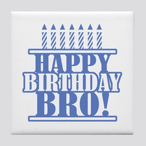 Happy Birthday Little Brother Coasters Cafepress