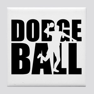 Dodgeball Tile Coaster