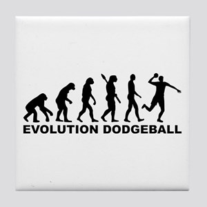 Evolution Dodgeball Tile Coaster