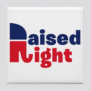Raised Right Tile Coaster