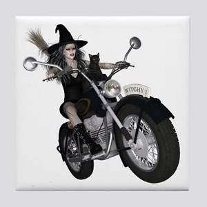 Witchy One ~ Speedy Tile Coaster