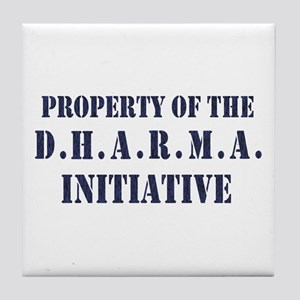 D.H.A.R.M.A. Initiative LOST Tile Coaster