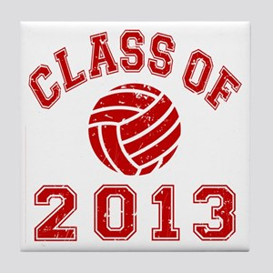 Class Of 2013 Volleyball Tile Coaster