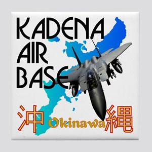 Kadena AB New Design Tile Coaster