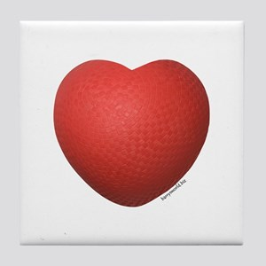 Dodgeball Love Tile Coaster